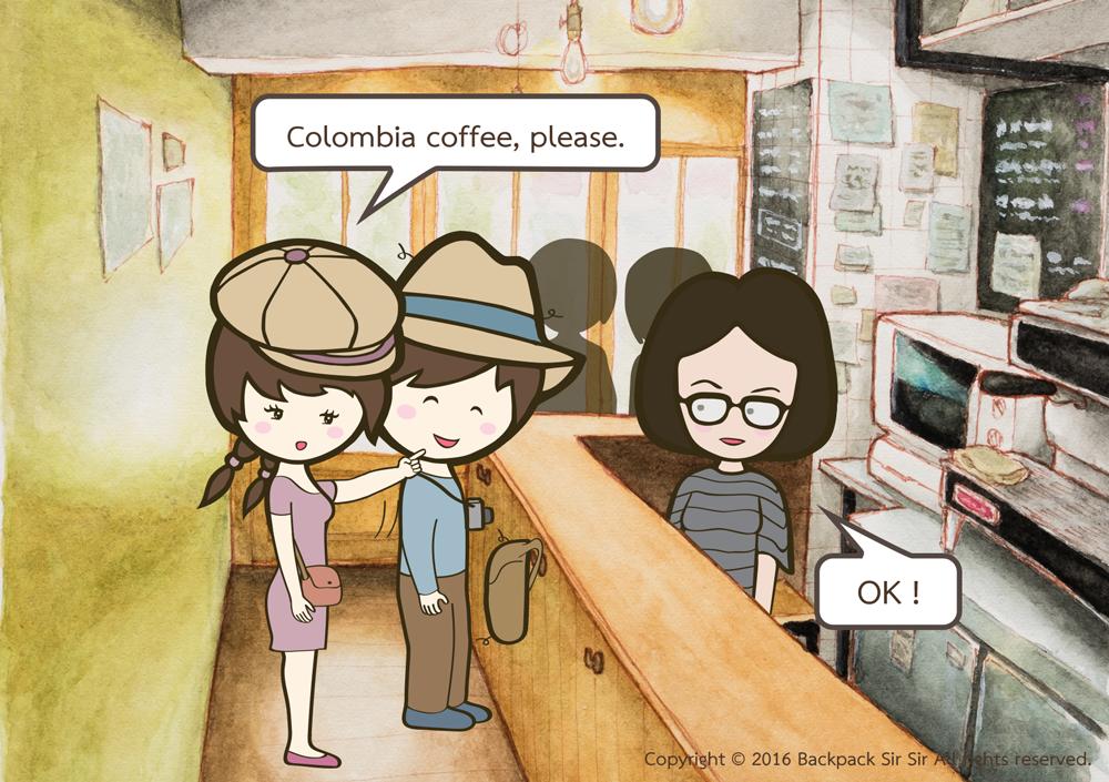 แบกเป้เซอเซอ ตอน ร้านกาแฟที่ต้องยืนกินกาแฟ รีวิวร้านกาแฟ COFFEE STAND UP