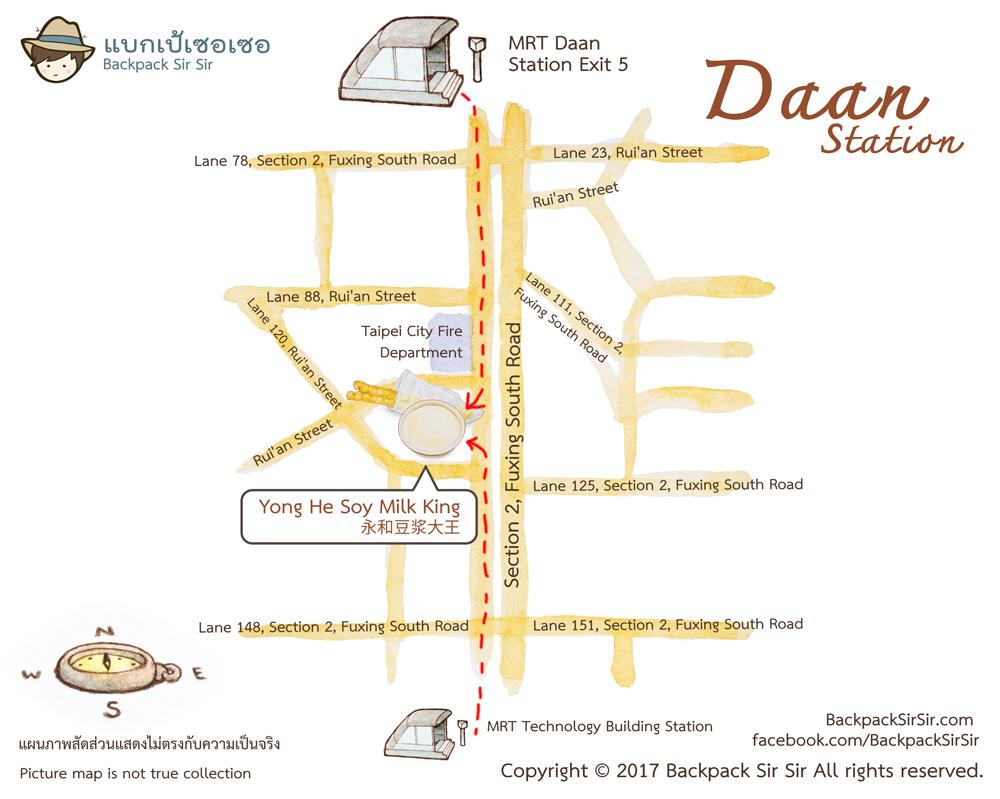 Daan-food-map