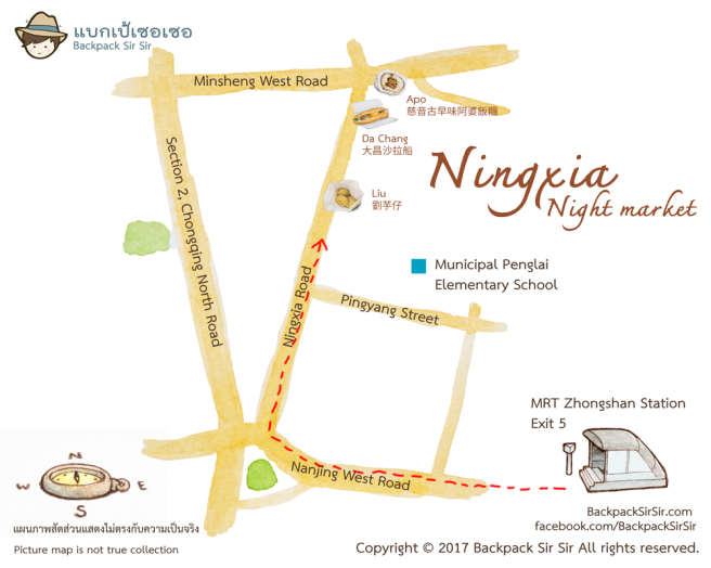 Ningxia-Night-market-map