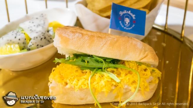รีวิวร้านอาหารสไตล์อังกฤษ Britshake British Afternoon Tea ในไทเป ไต้หวัน