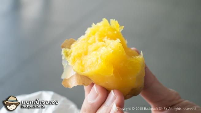 รีวิวมันเผา ในเซเว่น ไต้หวัน Sweet Potato in 7-eleven Taiwan รีวิวอาหารทานเล่น สำหรับรองท้อง