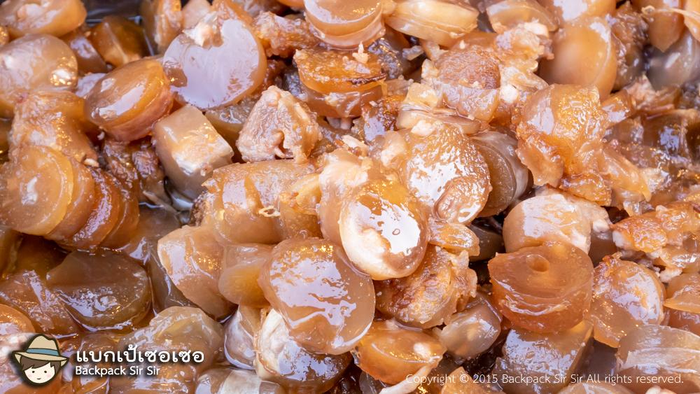 รีวิวไส้กรอก Fen Chang sausage ร้าน Kang Jia Ama 大甲康家阿媽ㄟ粉腸 ที่ Dajia ไถจง เที่ยวไต้หวันด้วยตนเอง