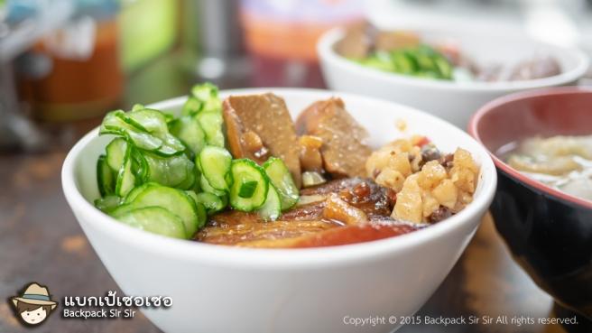 รีวิวข้าวขาหมูไต้หวัน Yi Jia Zi  一甲子餐飲 祖師廟焢肉飯 刈包 ใกล้วัดหลงซานที่ไทเป เที่ยวไต้หวันด้วยตนเอง