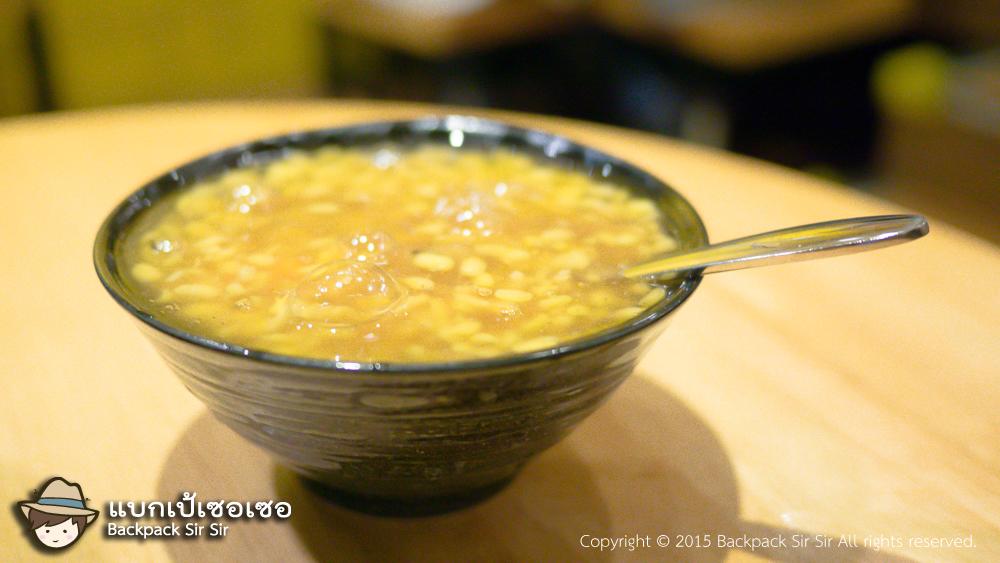 รีวิวขนมหวานน้ำแข็งไสจากผิงตง Lu Dou Suan Sha Mi 綠豆蒜啥咪 Taiwan dessert ที่ไทเป เที่ยวไต้หวันด้วยตนเอง