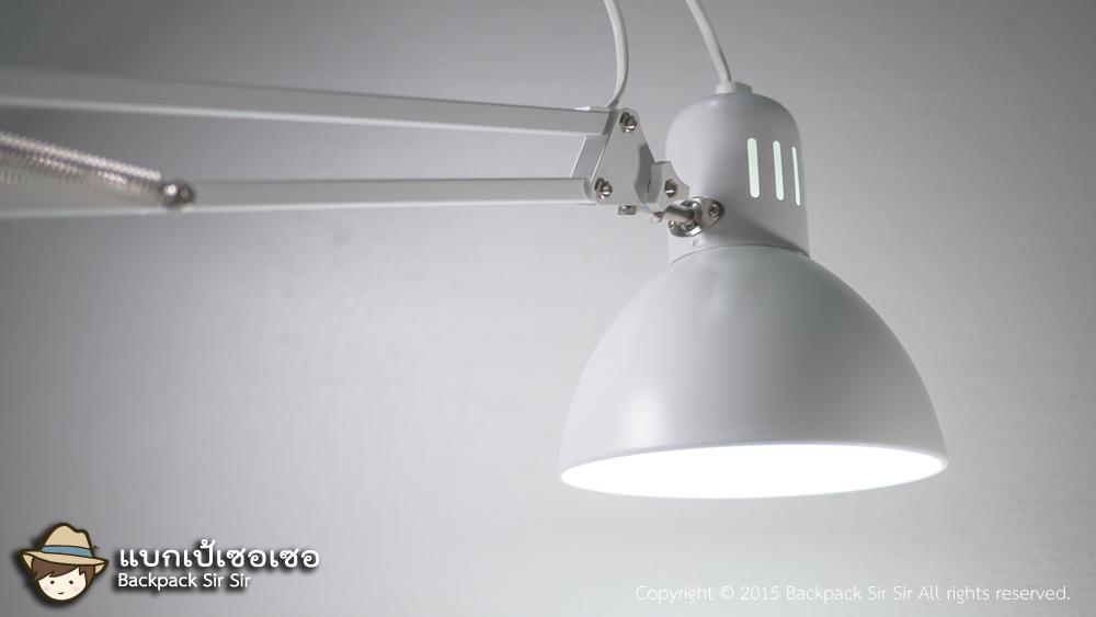 รีวิวโคมไฟตั้งโต๊ะ IKEA Tertial Table Lamp วิธีประกอบติดตั้งโคมไฟอิเกีย