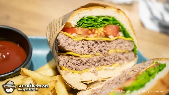 รีวิวสปาเก็ตตี้ แฮมเบอร์เกอร์ ร้าน 對味 The TASTE Taipei Brunch burgers and italian เที่ยวไต้หวัน