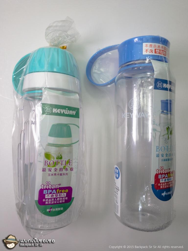 ขวดน้ำดื่ม Taiwan Keyway ของใช้จากไต้หวัน