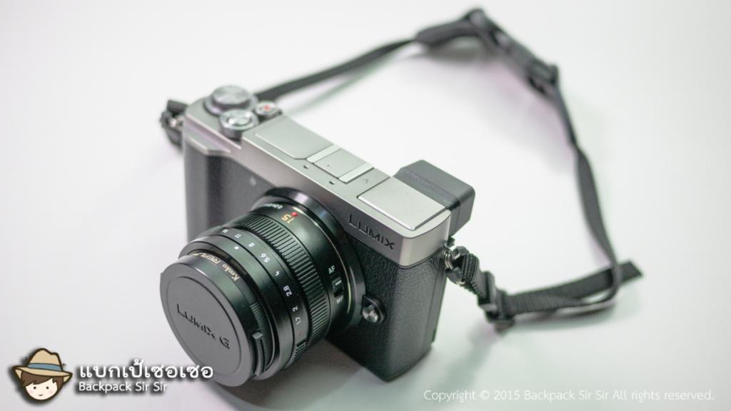 สายคล้องกล้อง JJC camera neoprene neck strap แบบต่อสั้น